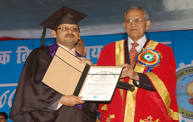 8th Convocation, 7th December, 2010